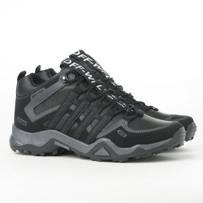 Zimske duboke cipele / patike 3014 crno sive (brojevi od 36 do 44)