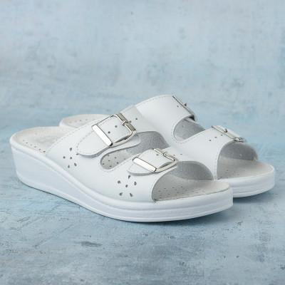 Anatomske papuče MEDICAL 400-S bele