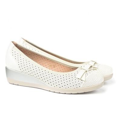 Cipele / baletanke na malu petu K5 bele