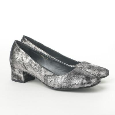 Cipele na malu štiklu K-126/5 srebrne