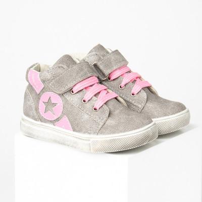 Dečije cipele sa anatomskim uloškom S030 sivo-roze
