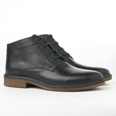 Kožne muške cipele AP485 crne