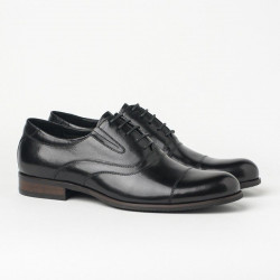 Kožne muške cipele BY320-102-H40 crne