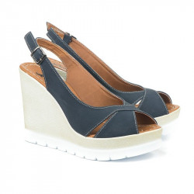 Sandale na platformu 5484/1008 teget