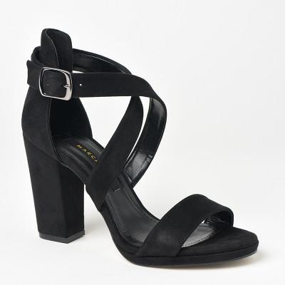 Sandale na štiklu 130 crne