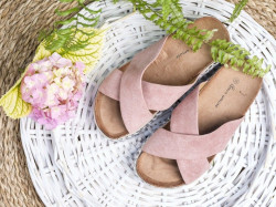 Ženske papuče 117 roze