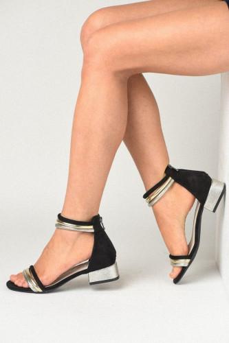 Ženske sandale LS211910 crne