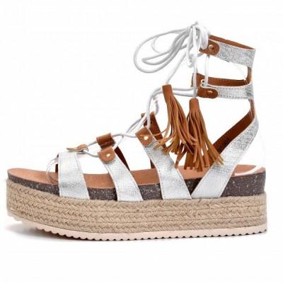 Ženske sandale LS791901 srebrne