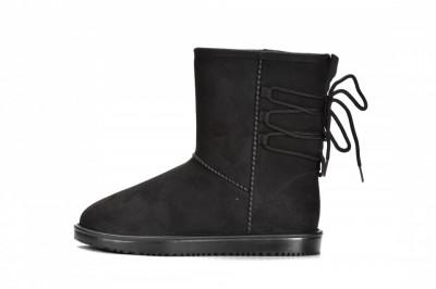 Ženske vodootporne čizme LH692002 crne
