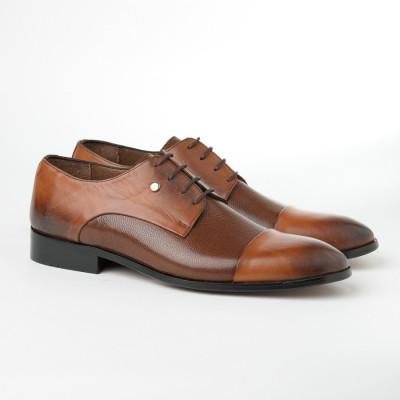 Kožne muške cipele 1724/1727 braon