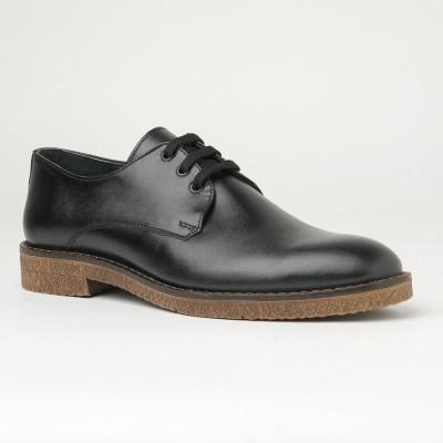 Muške kožne cipele 5931-01 crne