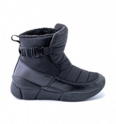 Postavljene ženske čizme LH060701 crne