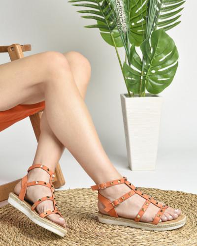 Ravne sandale LS021621 narandžaste