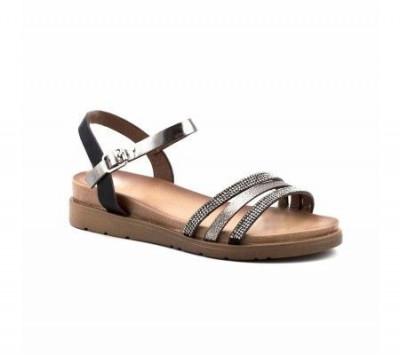 Sandale na debelom đonu LS83150-1 crne