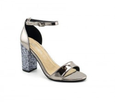 Sandale na štiklu LS91567 bronzane
