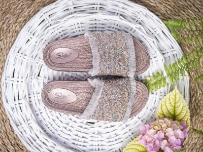 Ženske papuče LP801900 roze