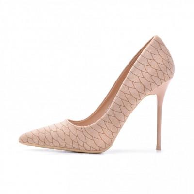Cipele na štiklu L241915 bež
