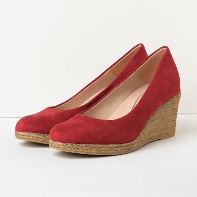 Cipele sa platformom C2126 crvene