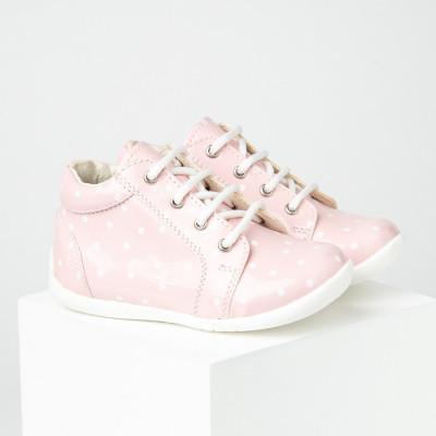 Dečije cipele sa anatomskim uloškom S07 roze lakovane