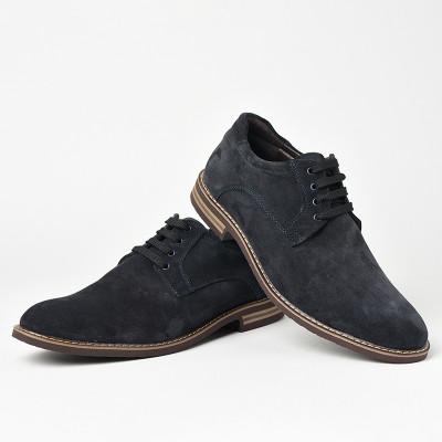 Kožne muške cipele 5577 teget