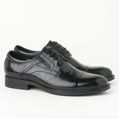 Kožne muške cipele HL-307D-7A crne