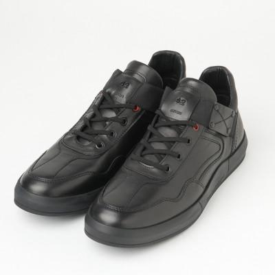 Kožne muške cipele/patike 5381 crne
