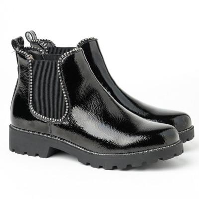 Lakovane duboke cipele LH051200 crne