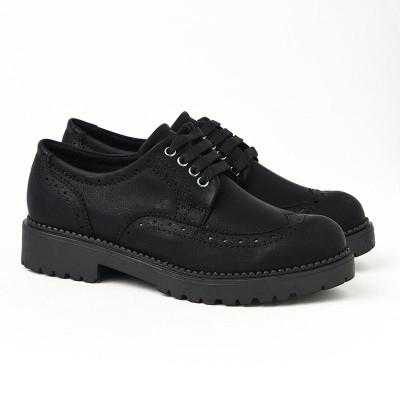 Ravne jesenje cipele 623-843 crne