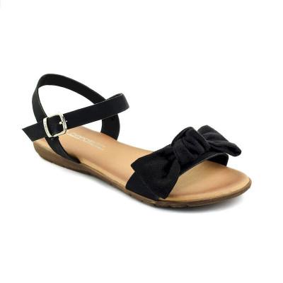 Ravne sandale LS020574 crne