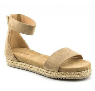 Sandale na debelom djonu LS91704 bež