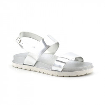 Sandale na debelom đonu LS020365 srebrne