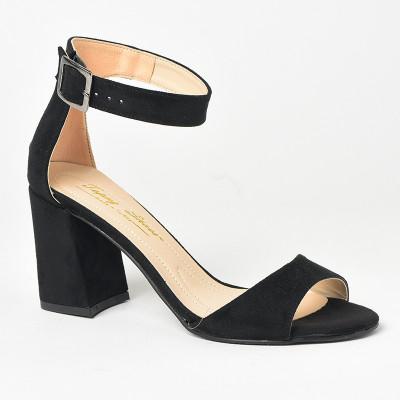 Sandale na štiklu 141 crne