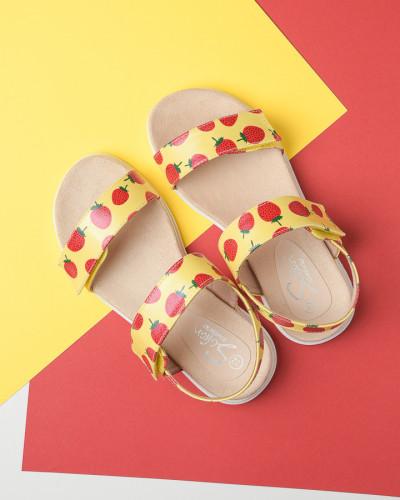 Sandale za devojčice CS252119 žute (brojevi od 31 do 36)