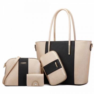 Set torbi 20822 crno/zlatno