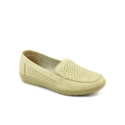 Ženske cipele / mokasine L020813 bež