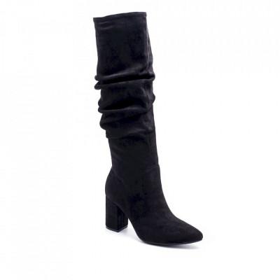 Ženske duboke čizme LX050508 crne
