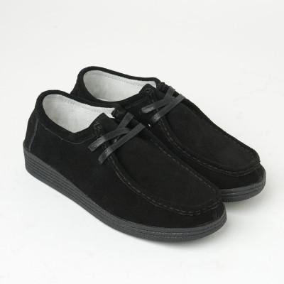 Ženske kožne cipele NT1307 crne