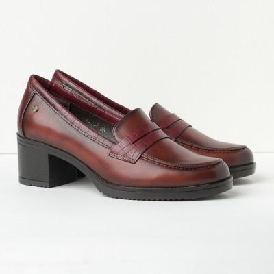 Cipele na štiklu C2135 bordo