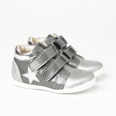 Dečije cipele sa anatomskim uloškom S06 srebrne