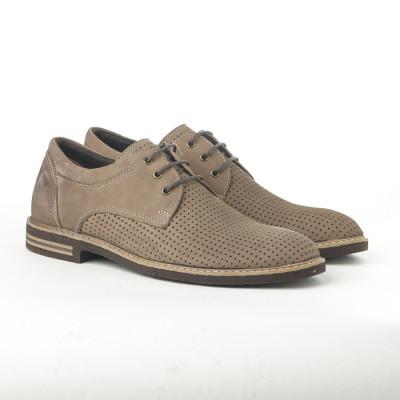 Kožne muške cipele 132 krem