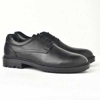 Kožne muške cipele AP2117 crne