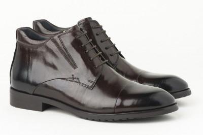 Kožne muške duboke cipele HL-H1051F-3A braon