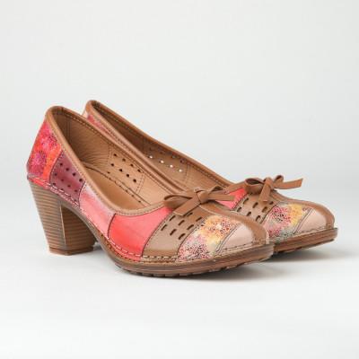 Kožne ženske cipele K1880/526