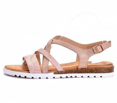 Ravne sandale LS381903 roze