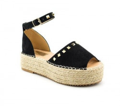 Sandale na debelom đonu LS90211 crne
