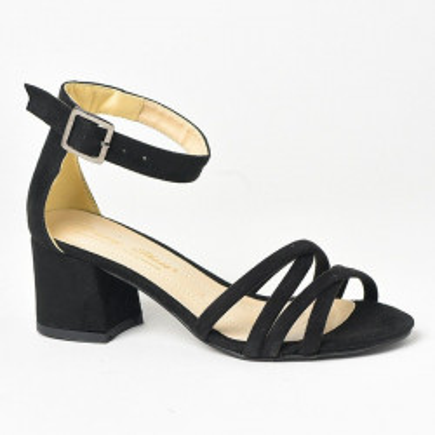 Sandale na štiklu 152 crne