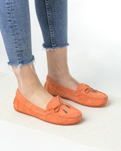 Ženske cipele / mokasine L020563 narandžaste