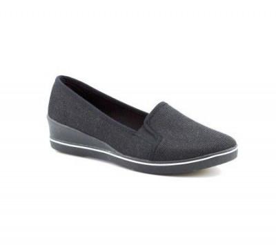 Ženske cipele / mokasine L80257-1 crne