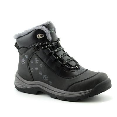 Zimske duboke cipele LH86157-1 crne