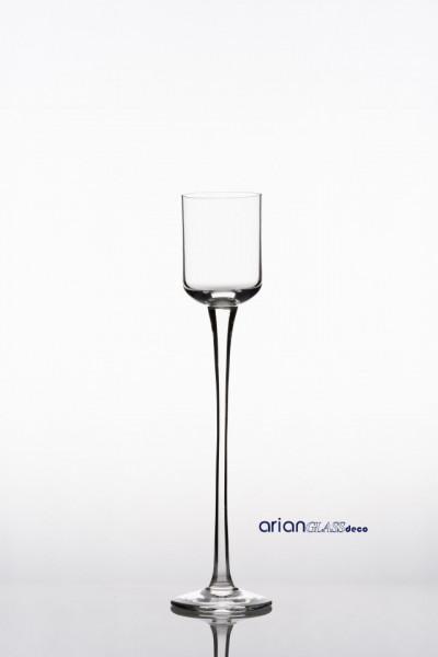 Sfesnic sticla transparenta H 30 D 6 cm